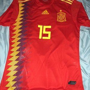 5810d0bba adidas Shirts | 2018 Spain Soccer Jersey Size Xl Climachill | Poshmark